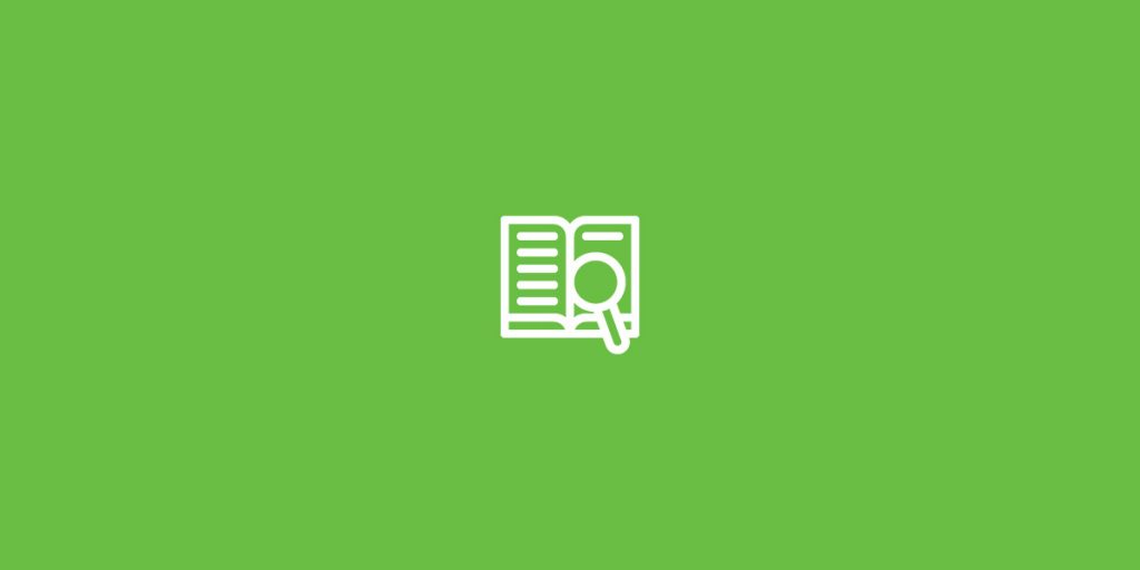 evidence based reading icon